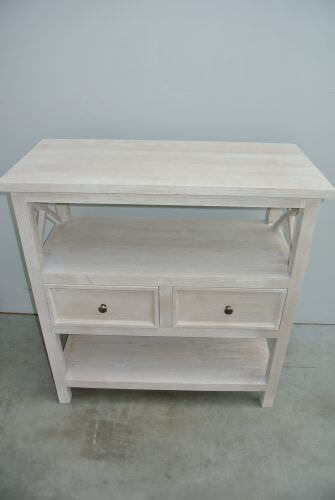side tafel vergrijsd afm 87Lx40Dx92H