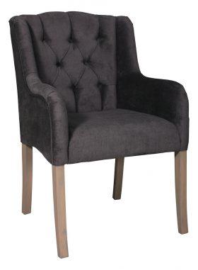 Landelijke arm leun stoelen in diverse kleuren stof of leder