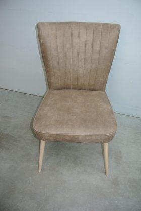 retro stoelen in micro vezel stof onderhouden vriendelijk