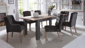 Landelijke uittrekbare tafels in verschillende kleuren en afmetingen