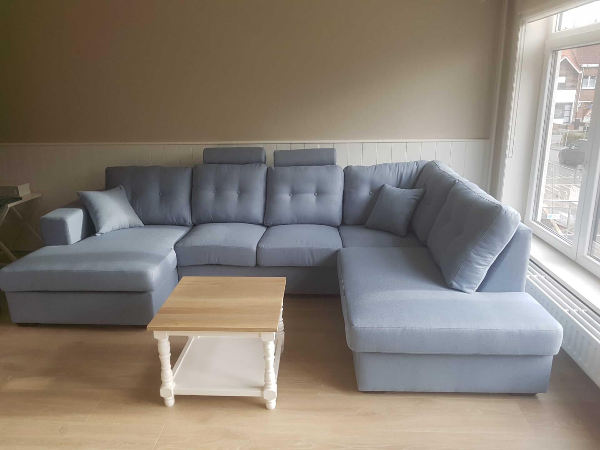 Landelijke sofa's in alle opstellingen
